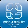 Logo der ICEF Agency 2018-2019