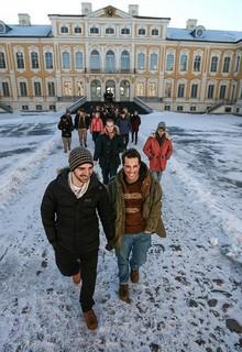 Medizinstudenten in Riga