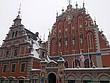 In der Altstadt in Riga