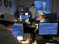 Studenten im Computerraum