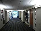 Typischer Flur eines Seminargebäudes