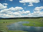 Flusslandschaft in Montana