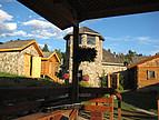 Typisches Haus auf einer Ranch