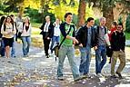 Studenten auf dem Campus der MSU Billings