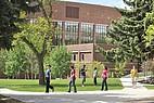 Studenten der Montana State University auf dem Weg zur Vorlesung
