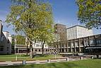 Blick auf den Campus der Riga Stradins Universität
