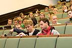 Studierende während einer Vorlessung