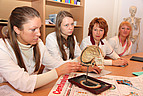 Studierende während eines Seminars
