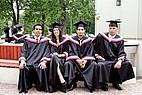 Absolventen der Riga Stradins Universität