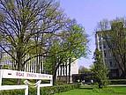 Das Eingangsportal der Riga Stradins Universität