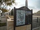 Wegweiser auf dem Campus der San Diego State University