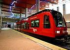 Bahnhof mit direkter Verbindung nach Downtown San Diego auf dem Campus der San Diego State University