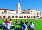 Studenten auf dem Campus der San Diego State University