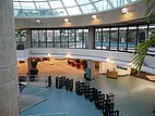 Der Eingangsbereich der Bibliothek der San Diego State University