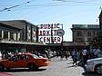 """Die Attraktion """"Pike's Market"""" in Downtown Seattle"""
