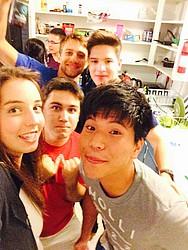 Studenten an der Oregon State University