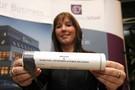 Sprachschülerin mit Zertifikat Galway Cultural Institute
