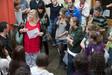 Begrüßung derSprachschüler, Language in Dublin