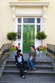 Sprachschüler in Irland im Gespräch