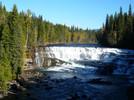 Wasserfälle in kanadischem Nationalpark
