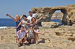 Sprachschüler BELS Gozo auf einem Ausflug ans Meer