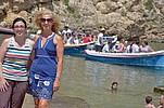 Sprachschülerinnen an der maltesischen Küste