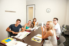 Sprachschüler Rennert Miami beim Unterricht