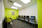 Modern eingerichtete Klassenzimmer