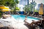 Pool der Sprachschule Rennert Miami
