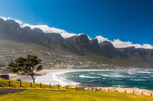 Traumhafter Strand in Kapstadt, Südafrika