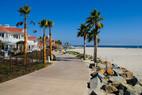 Strandpromenade in San Diego