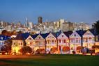 """Painted Ladies"", viktorianische Häuser in San Francsico"