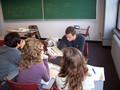 Sprachschüler in der Schule LSI New York in Manhattan