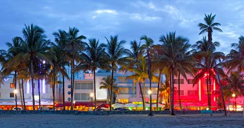 Strandpromenade Miami Beach