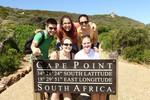 Sprachschüler am Kap der Guten Hoffnungg in Kapstadt, Südafrika