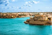 Türkises Meer Malta Sprachreise