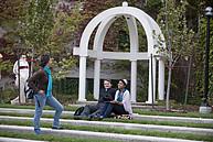 Studenten der WLU während einer Pause