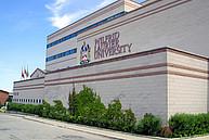 Das Hauptgebäude der Wilfrid Laurier University