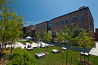Blick auf den Campus der Wilfrid Laurier University (WLU)