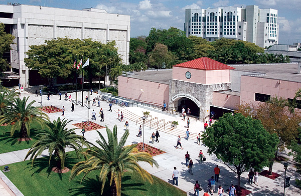 Studium an der Florida International University in Miami