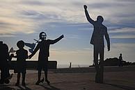 Kunstinstallation an der Nelson Mandela Metropolitan University