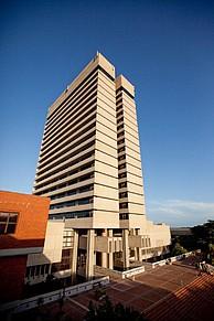 Hauptgebäude der Nelson Mandela Metropolitan University
