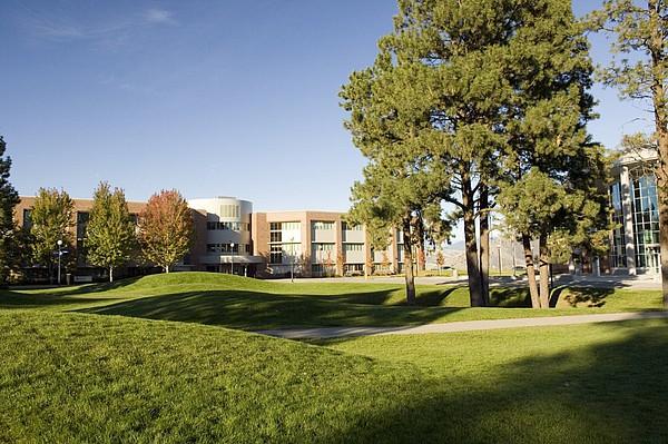 Campus der Thompson Rivers University in Kamloops (British Columbia/Kanada)