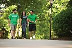 Studenten der Marshall University auf dem Campus