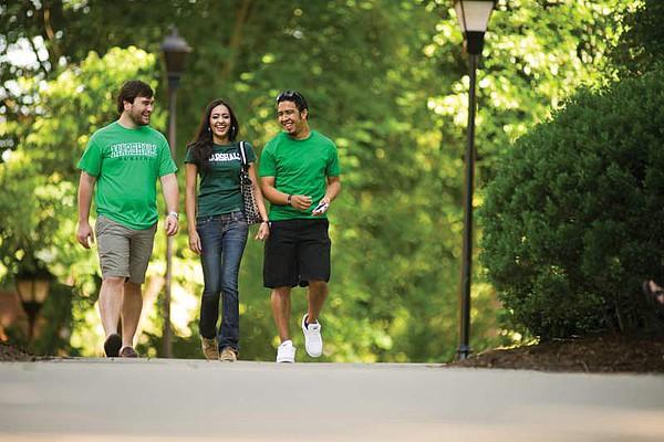 Studenten der Marshall University in West Virginia