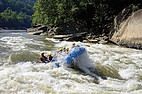Wild Water Rafting in West Virginia