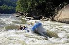 Wild Water Rafting in West Virginia