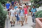 Amerikanische Studenten der Marshall University