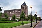 Universitätsgebäude auf dem Campus der Mercer University