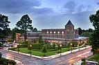 Blick auf die Mercer University und ihren Campus